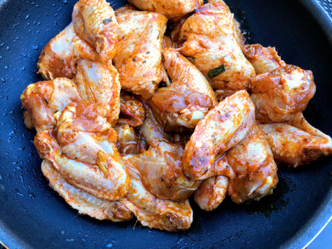 2lb pack - Organic Chicken Wings (Local 100-mile diet friendly)