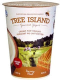 Tree Island Yoghurt - Cream Top Yoghurt 3.5% M.F. 500g