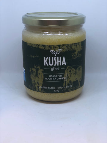 Kusha Ghee - Grass Fed Clarified Butter