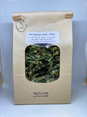The Raw Guy - Parmezan Kale Chip