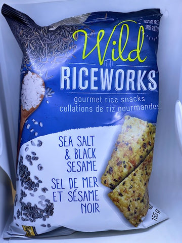 Rice Works - Sea Salt & Black Sesame