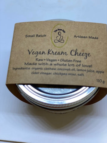 Vegan Kream Cheese - The Raw Guy