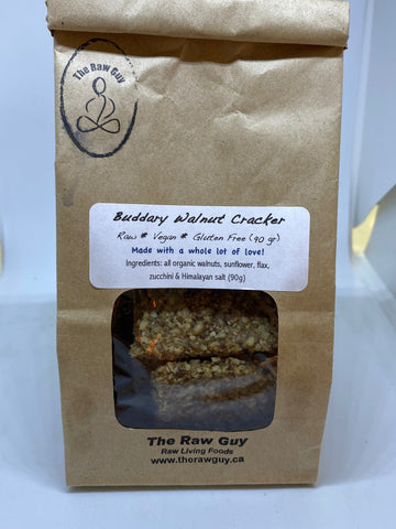 Buddary Walnut Cracker - The Raw Guy (Vegan, GF)