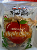 Triple Jim's Organic Apple Chips