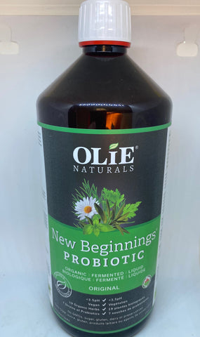 Olie Naturals New Beginnings - Organic Fermented Herbal Probiotic Drink