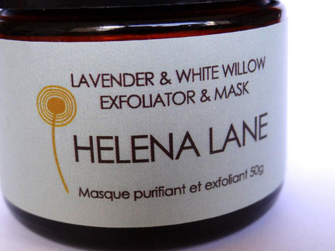 Helena Lane - Lavender & White Willow Mask 50g - $22 - HOTRO.ca