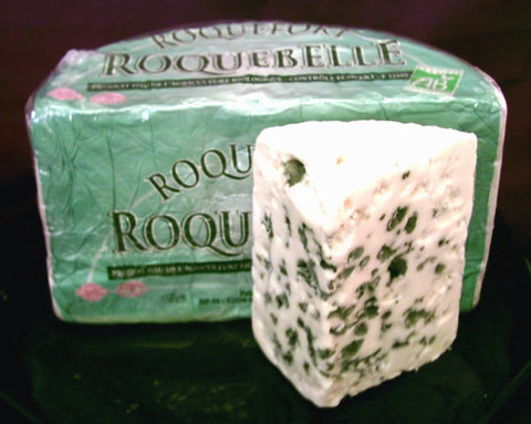 Delicious Roquefort cheese from Fracns is a sheels milk blue cheese, and one of the worlds favourite cheeses