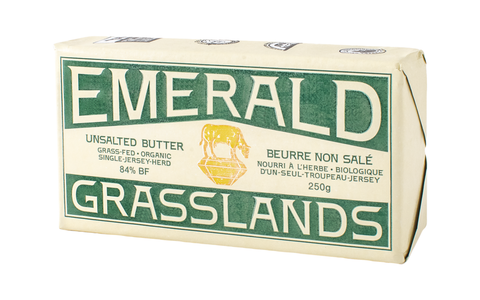 Emerald Grasslands Grass Fed Canadian Butter - Unsalted