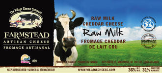 Village Cheese Unpasteurized Cheddar (250g) - HOTRO.ca