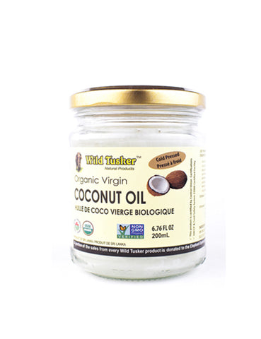 Wild Tusker Organic Coconut Oil (two sizes)