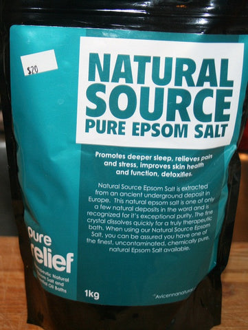 Epsom Salt - Natural Source Pure with Essential Oils - 2.2lbs - $22 - HOTRO.ca
