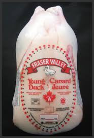 Whole Fraser Valley Duck - $5.99lb - 5-7lbs - $30 DEPOSIT - HOTRO.ca