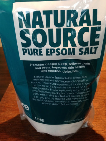 Epsom Salt - Natural Source Pure - 3.3lbs - $20 - HOTRO.ca