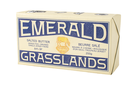 Emerald Grasslands Grass Fed Canadian Butter - Salted