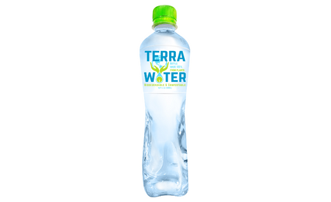 Terra Water - sustainable packaging water bottle