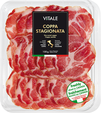 Coppa Stagionata - dry cured salumi