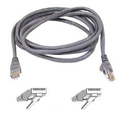 BELKIN 1M GREY CAT6 SNAGLESS PATCH CABLE