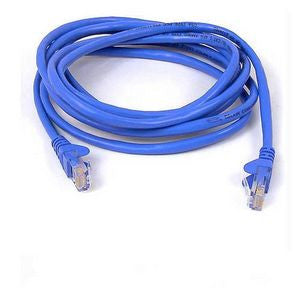 BELKIN 1M BLUE CAT5E SNAGLESS PATCH CABLE