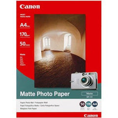 CANON MP101 A4 Matte Photo Paper 50pk