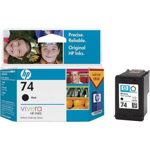 HP 74 BLACK INK CART CB335WA