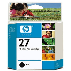 HP 27 BLACK INK CART C8727AA