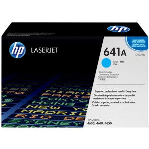 HP C9721A 641A CYAN TONER CARTRIDGE