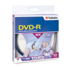 Verbatim DVD-R 10pack Spindle