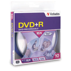 Verbatim DVD+R 10pack Spindle