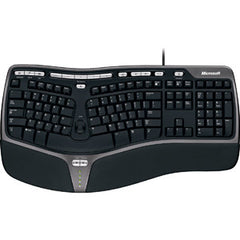 MICROSOFT WIRED KEYBOARD NATURAL ERGO - 4000 BLACK