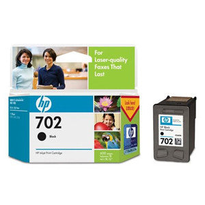 HP 702 BLACK INK CART CC660AA
