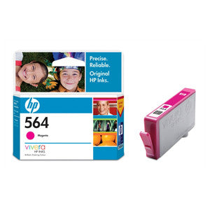 HP 564 MAGENTA INK CART CB319WA