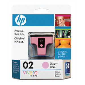 HP 02 INK CARTRIDGE LIGHT MAGENTA