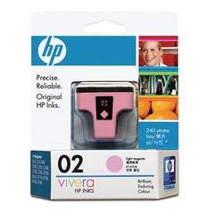 HP 02 LIGHT MAGENTA INK CART C8775WA