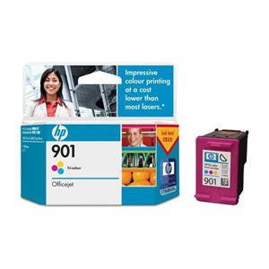 HP 901 TRI-COLOR INK CART CC656AA