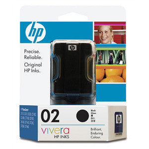 HP 02 INK CARTRIDGE BLACK