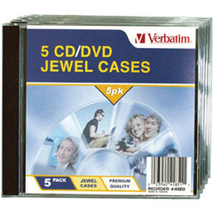 VERBATIM 5pk Empty CD Case