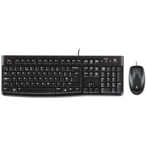 LOGITECH MK120 CORDED USB DESKTOP Sleek yet sturdy design easy-to read keys full-size layout high definition optical mouse. 3 Years Limited Warranty
