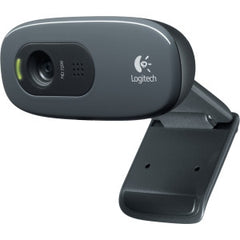 LOGITECH C270 HD WEBCAM HD 720p video calling & recording 3.0mp software enhanced pics RightLight & RightSound technology. 2 Years Limited Warranty