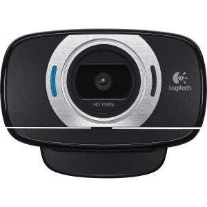LOGITECH C615 HD WEBCAM Full HD 1080p recording. HD 720p video calling on most major IM apps. Glass element lens with autofocus. Fold-and-go tripod-ready design with360-degree swivel. PC & Mac 2yr limit war