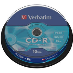 VERBATIM CD-R 700MB 52X 10PK Spindle