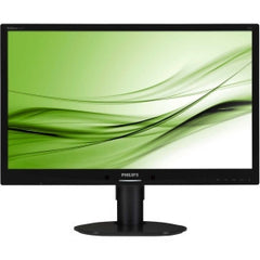 "PHILIPS 241B4LPYCB 24"" W LED BLK/H-ADJ/SPK/DP"