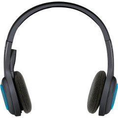 LOGITECH H600 WIRELESS HEADSET (R) Connects to your PC with a nano USB receiver. Six-hour rechargeable battery. Portable folding design. Laser-tuned drivers with stereo sound. Noise Cancelling Microphone. 2yr