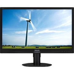 "PHILIPS 22"" Ergonomic LED PowerSensor Hi-adj/Piv"