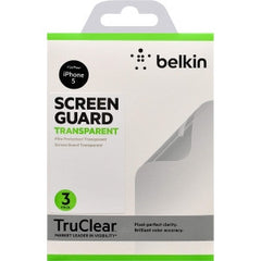 BELKIN iPhone 5 Scrn Ovrly Pet IPHNX Clear 2-PK