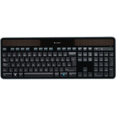 LOGITECH K750R WIRELESS SOLAR KEYBOARD (U) Battery hassles are a thing of the past with the solar-powered Logitech Wireless Solar Keyboard K750.
