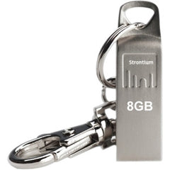 STRONTIUM TECHNOLOGY 8GB USB Flash Drive Ammo Series Silver