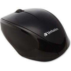 VERBATIM  Wireless Optical Multi-Trac Blue LED Mouse - Black