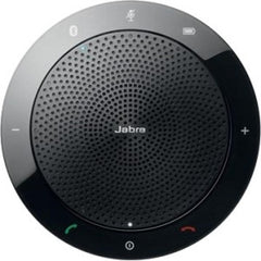 Jabra SPEAK 510 USB-Coference solution 360-degree-microphone inhibits echos & noise Plug&Play mute and volume button Wideband (150 -6.800 Hz) integrated echargeable battery (15 hours talk time)