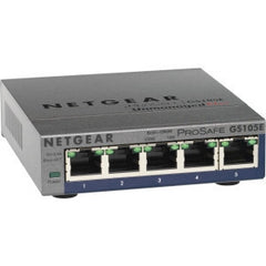 NETGEAR GS105E ProSafe Plus 5-port