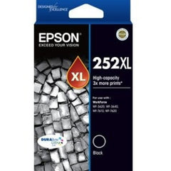 EPSON 252XL High Capacity DURABrite Ultra Black ink